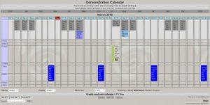 Beitragsbild Kalender Spaltenansicht