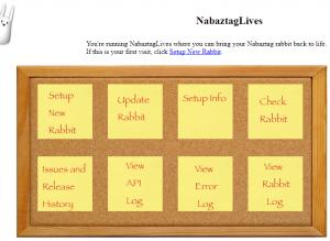 Nabaztag Lives GUI